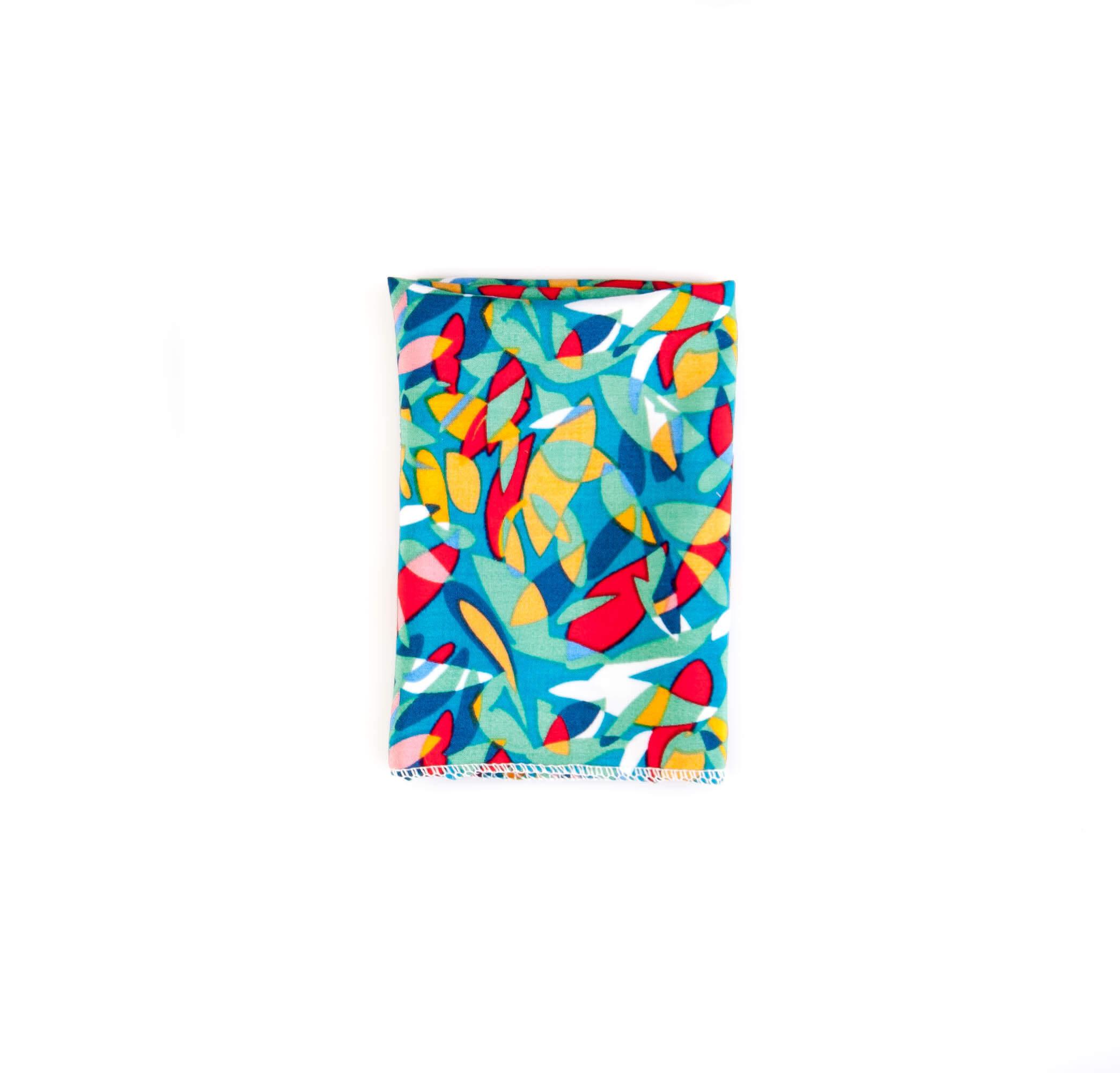 دستمال جیب طرح مدرن رنگی کد PS1051