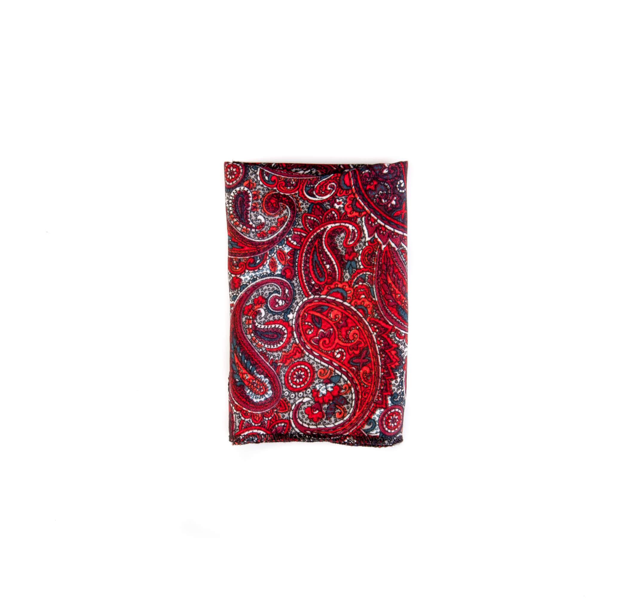 دستمال جیب طرح بته جقه رنگارنگ کد PS1056