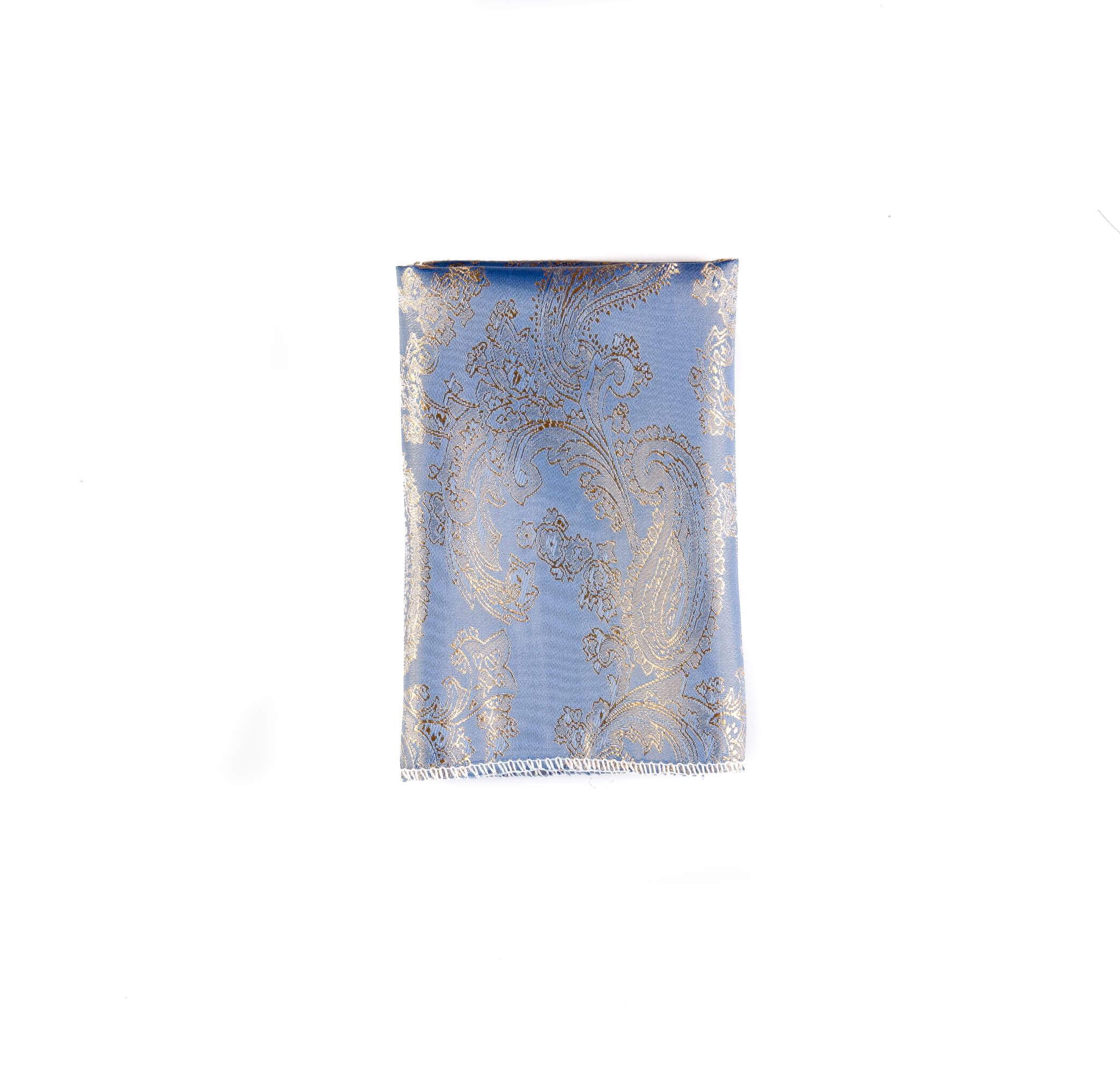 دستمال جیب طرح گلدار رنگ اطلسی کد PS1064