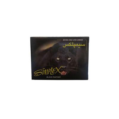 کاندوم سیمپلکس مدل co1047-Black Panther