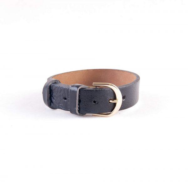 دستبند چرمی سگک دار مردانه LM1005