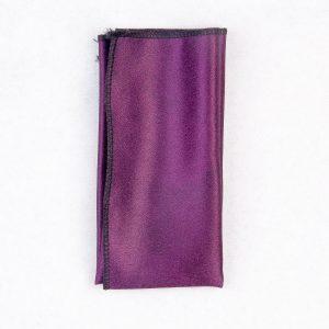 دستمال جیب طرح ساده رنگ بنفش PS1015
