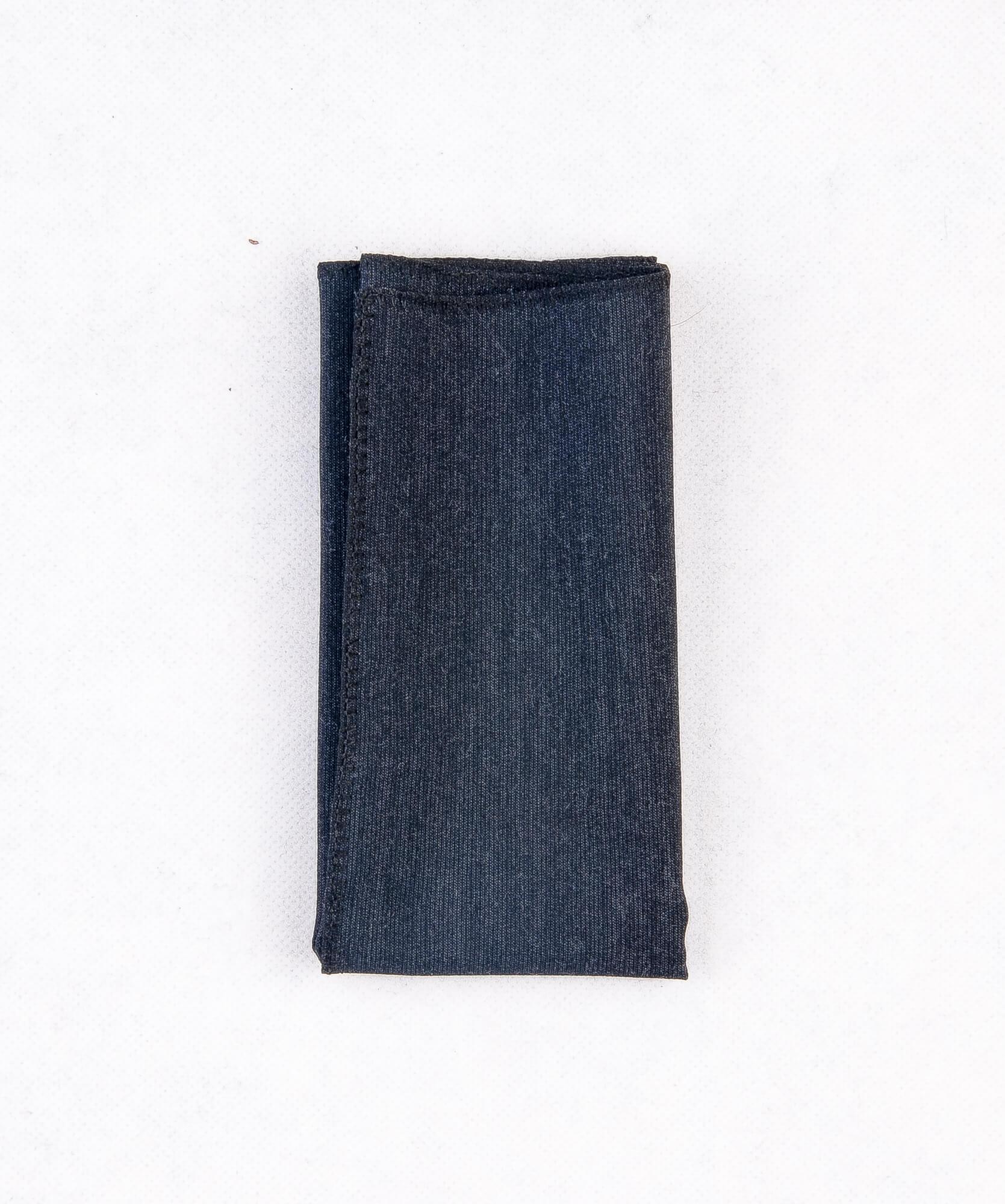 دستمال جیب طرح ساده رنگ خاکستری PS1010