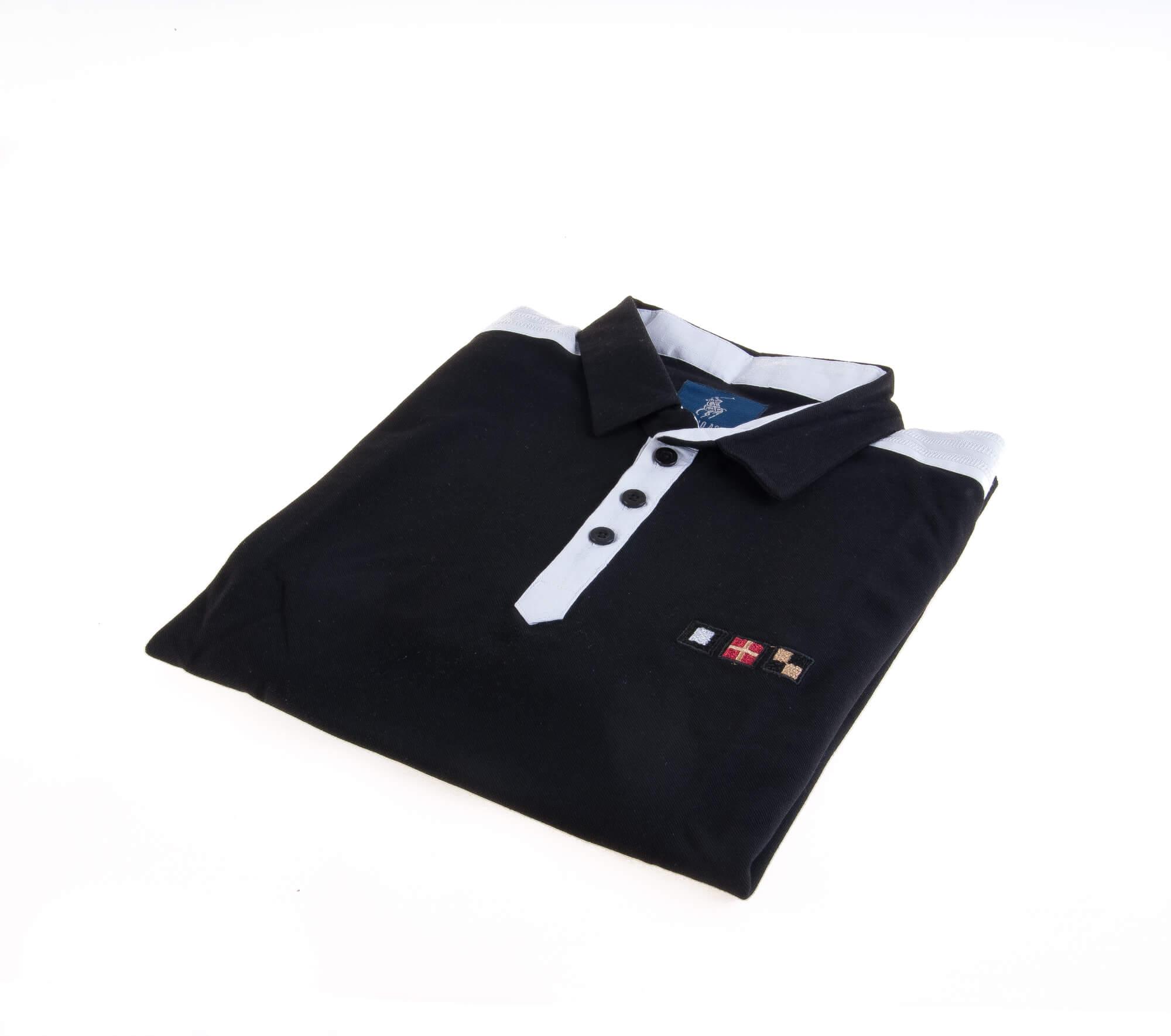 تی شرت یقه دار مردانه ساده-PS1084