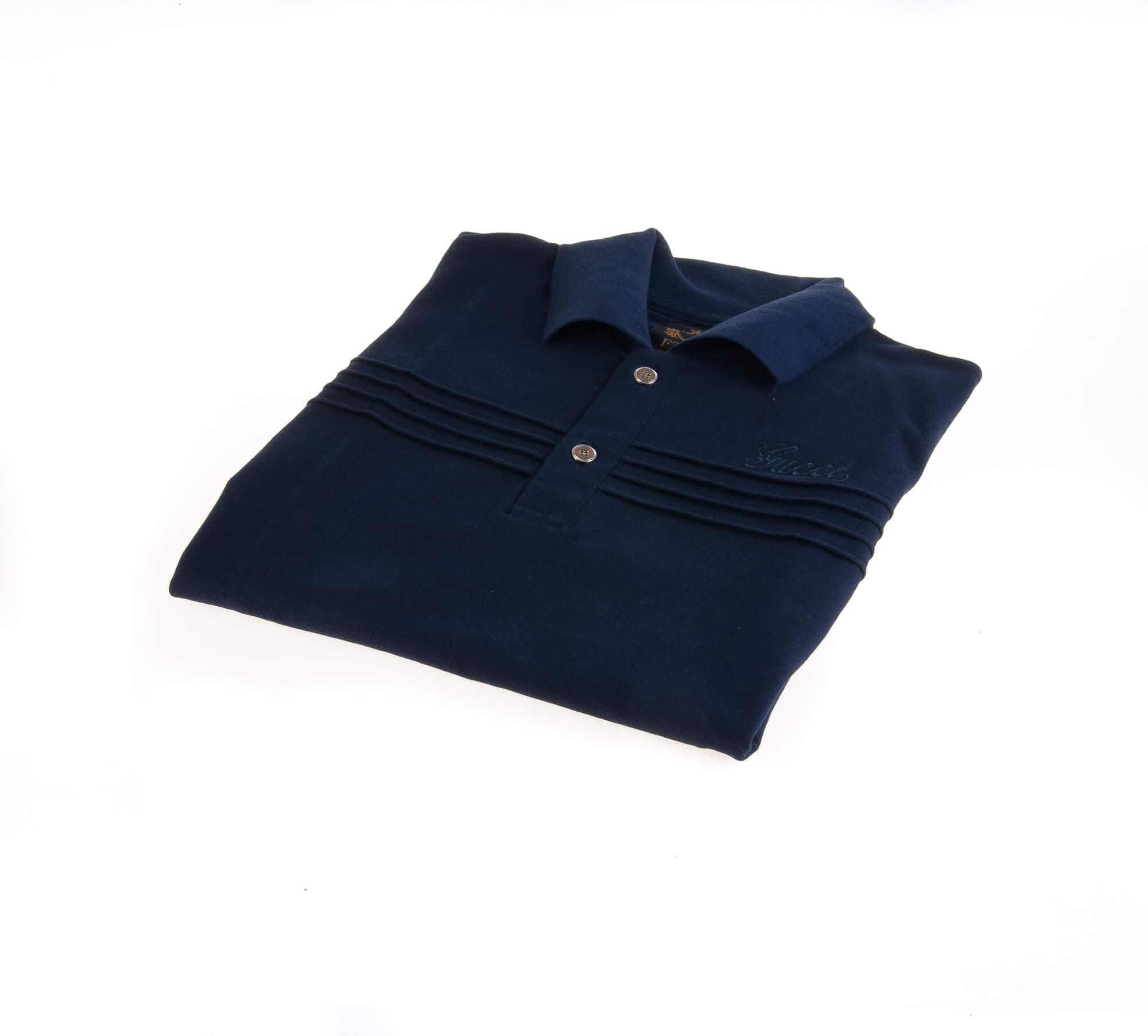 تی شرت یقه دار مردانه طرح PS1009 – GUCCI