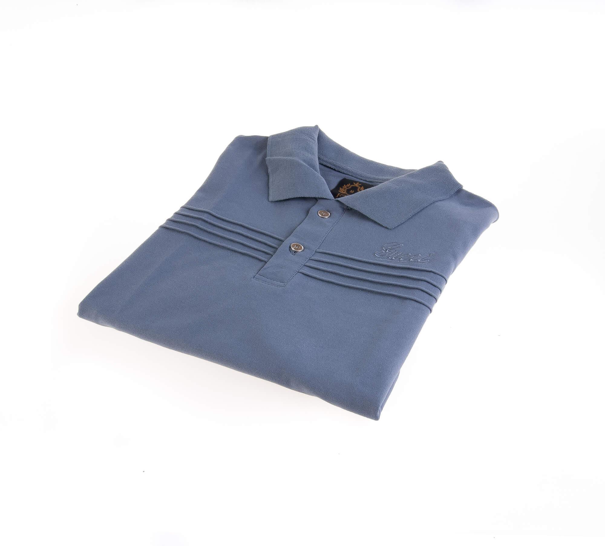 تی شرت یقه دار مردانه طرح PS1007-GUCCI