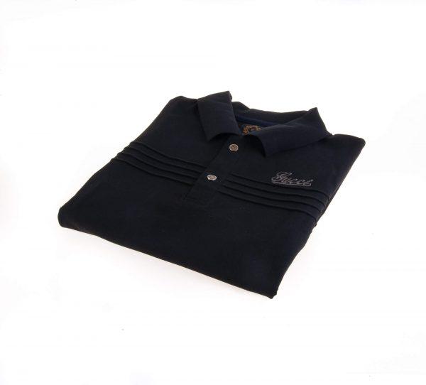 تی شرت یقه دار مردانه طرح PS1010 - GUCCI
