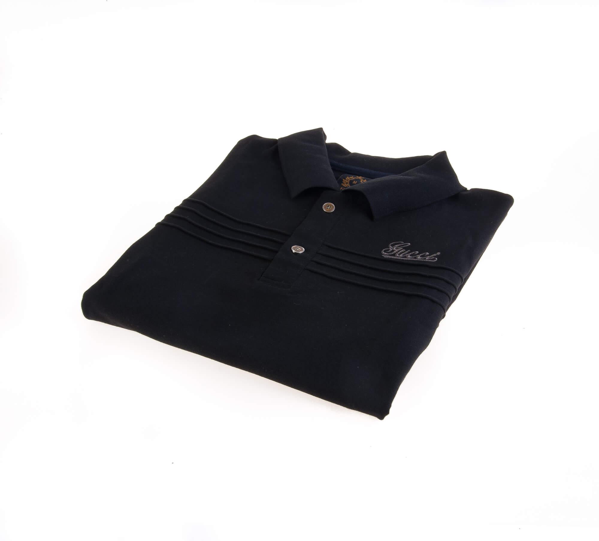 تی شرت یقه دار مردانه طرح PS1010 – GUCCI