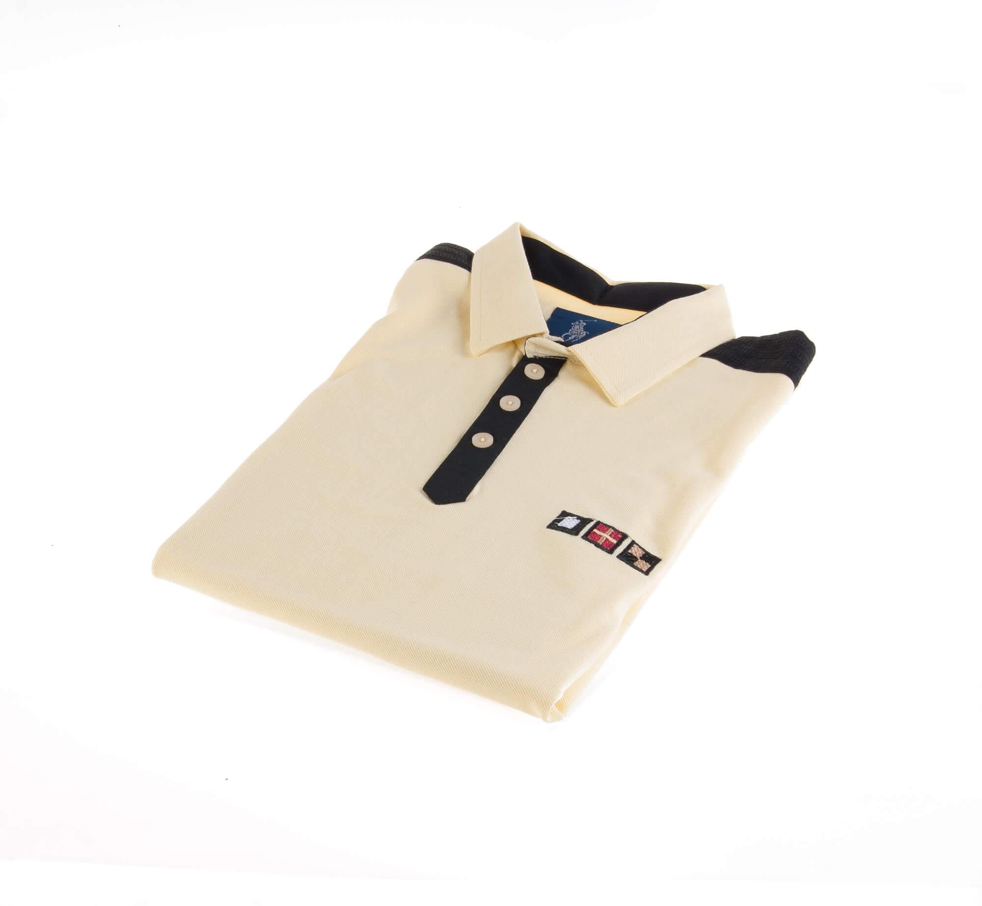 تی شرت یقه دار مردانه ساده-PS1083