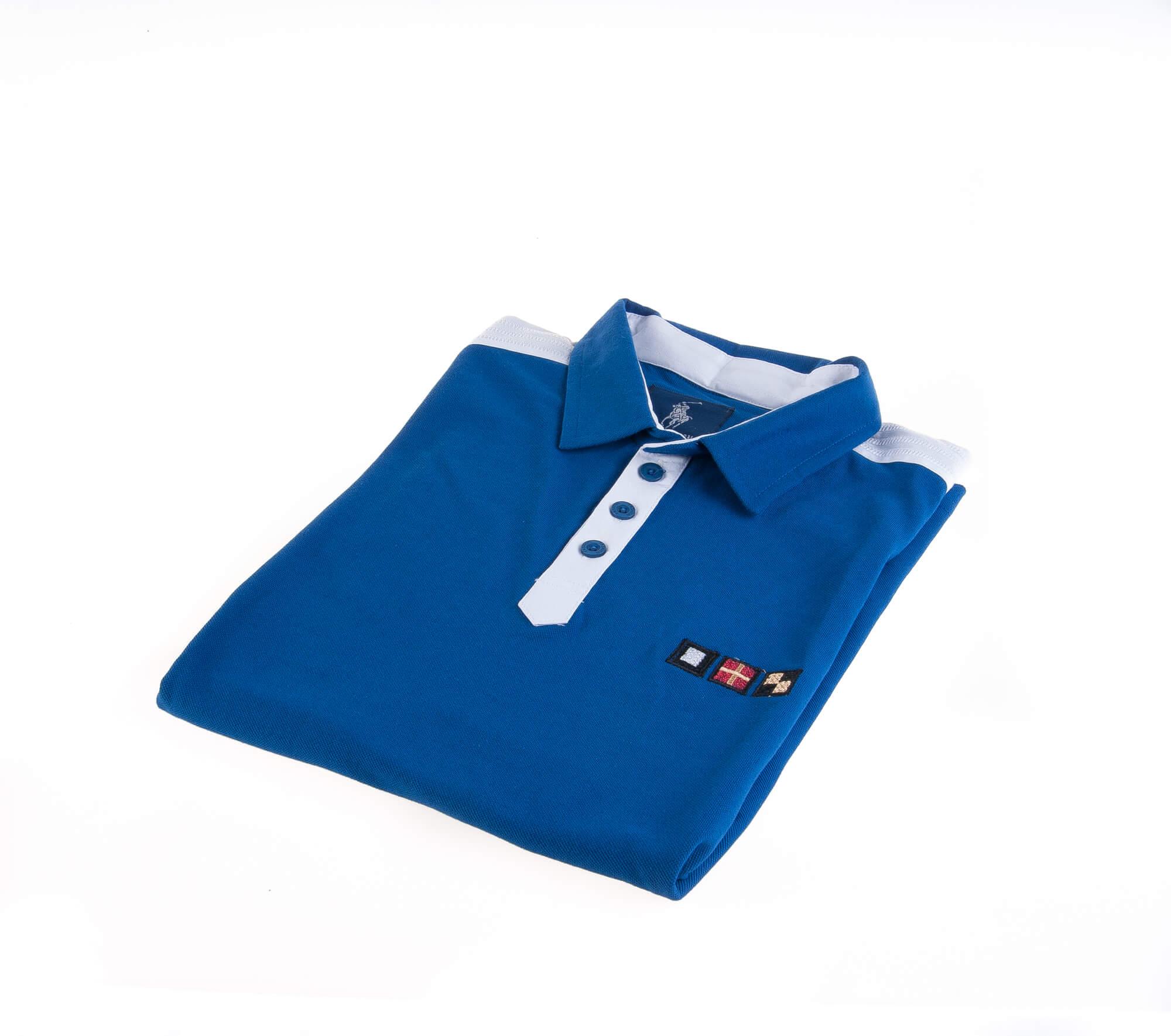 تی شرت یقه دار مردانه ساده-PS1078