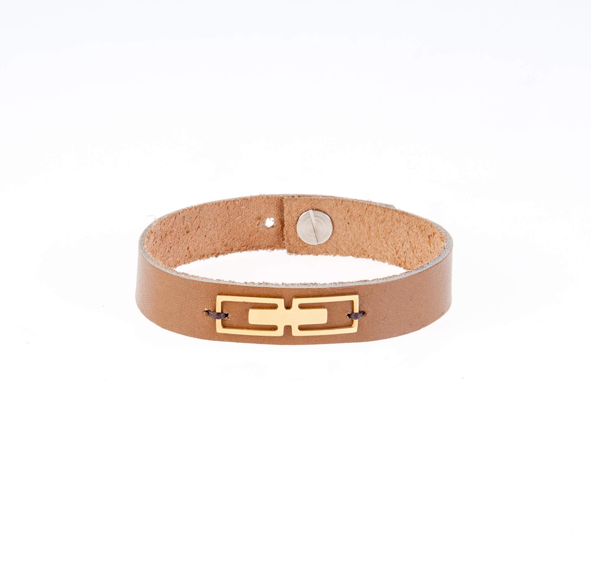 دستبند چرمی مردانه LM1018