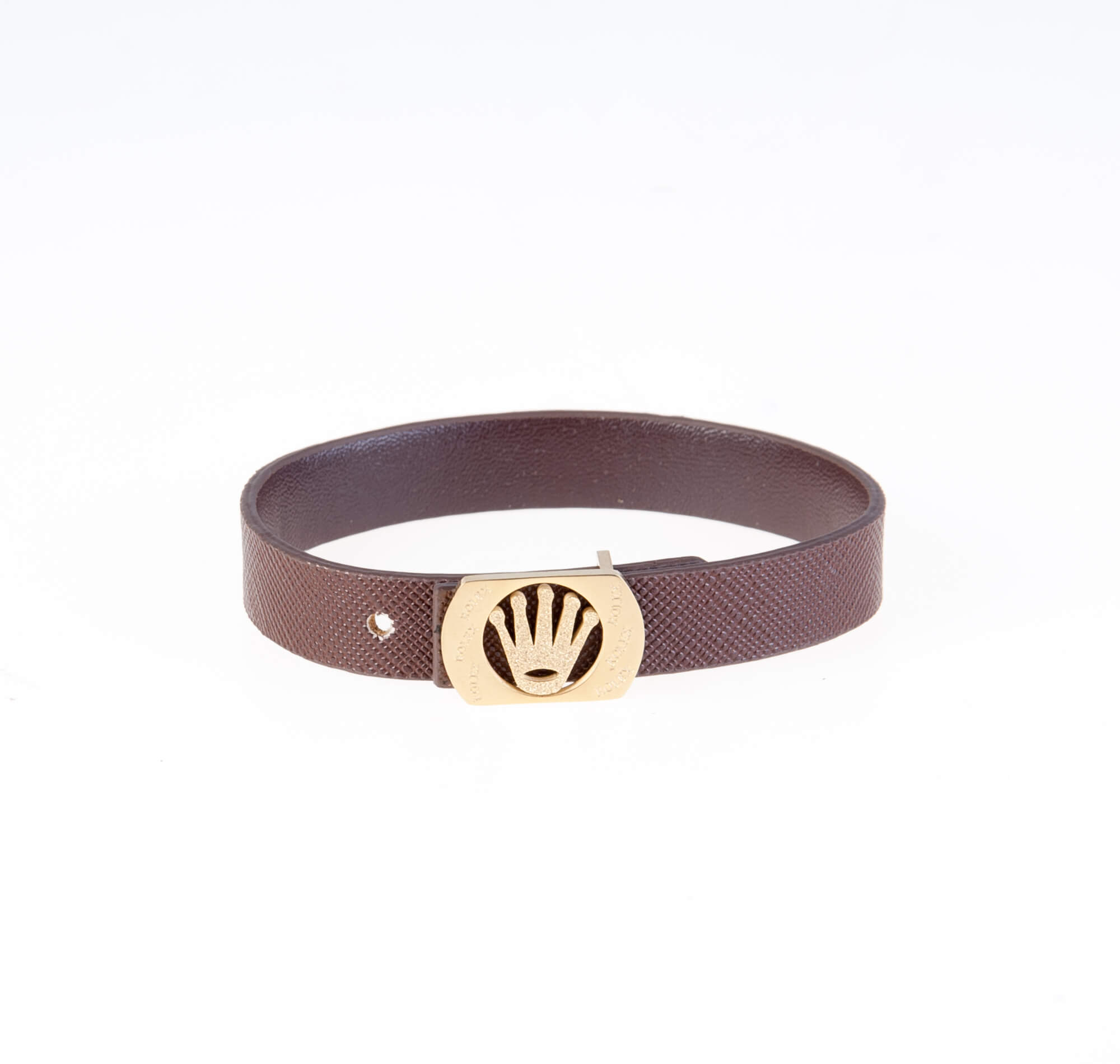 دستبند قهوه ای چرمی مردانه LM1022