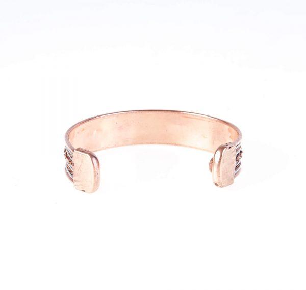 دستبند فلزی مسی CU1001