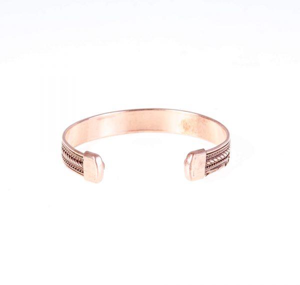 دستبند فلزی مسی CU1003