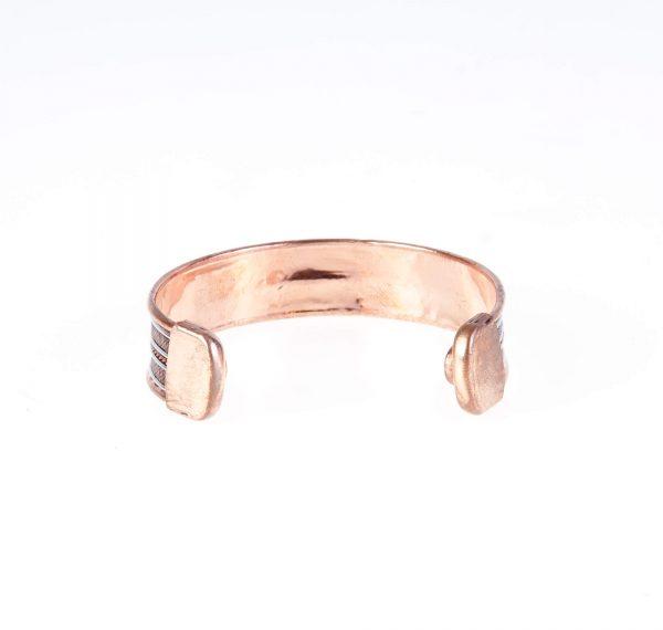 دستبند فلزی مسی CU1004