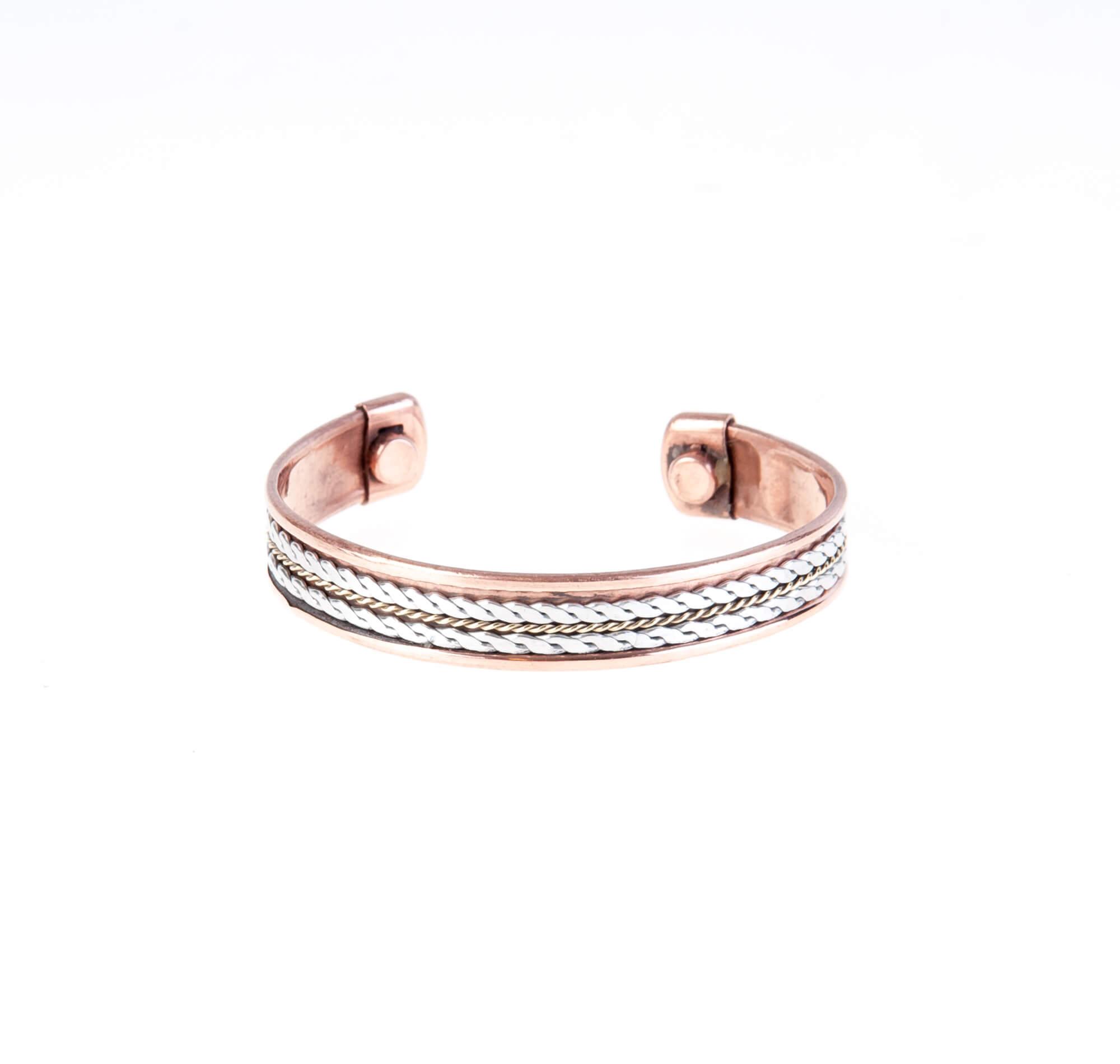 دستبند فلزی مسی CU1006