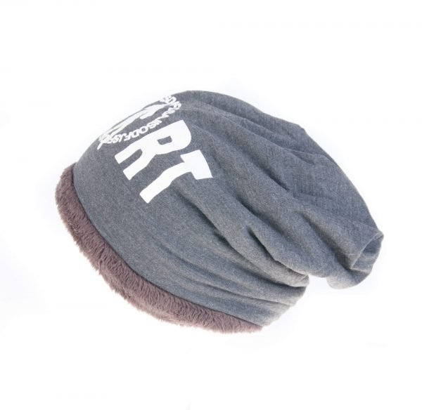 کلاه طرح دار MADAME COCO - پشمی HW1007