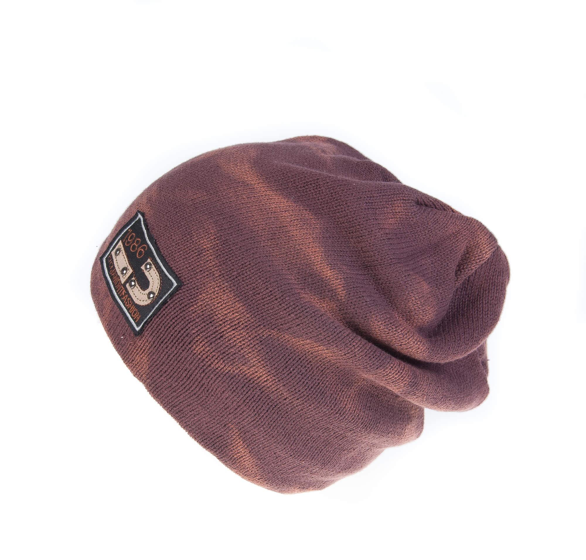 کلاه طرح دار مردانه FASHION JAMONT HN1004