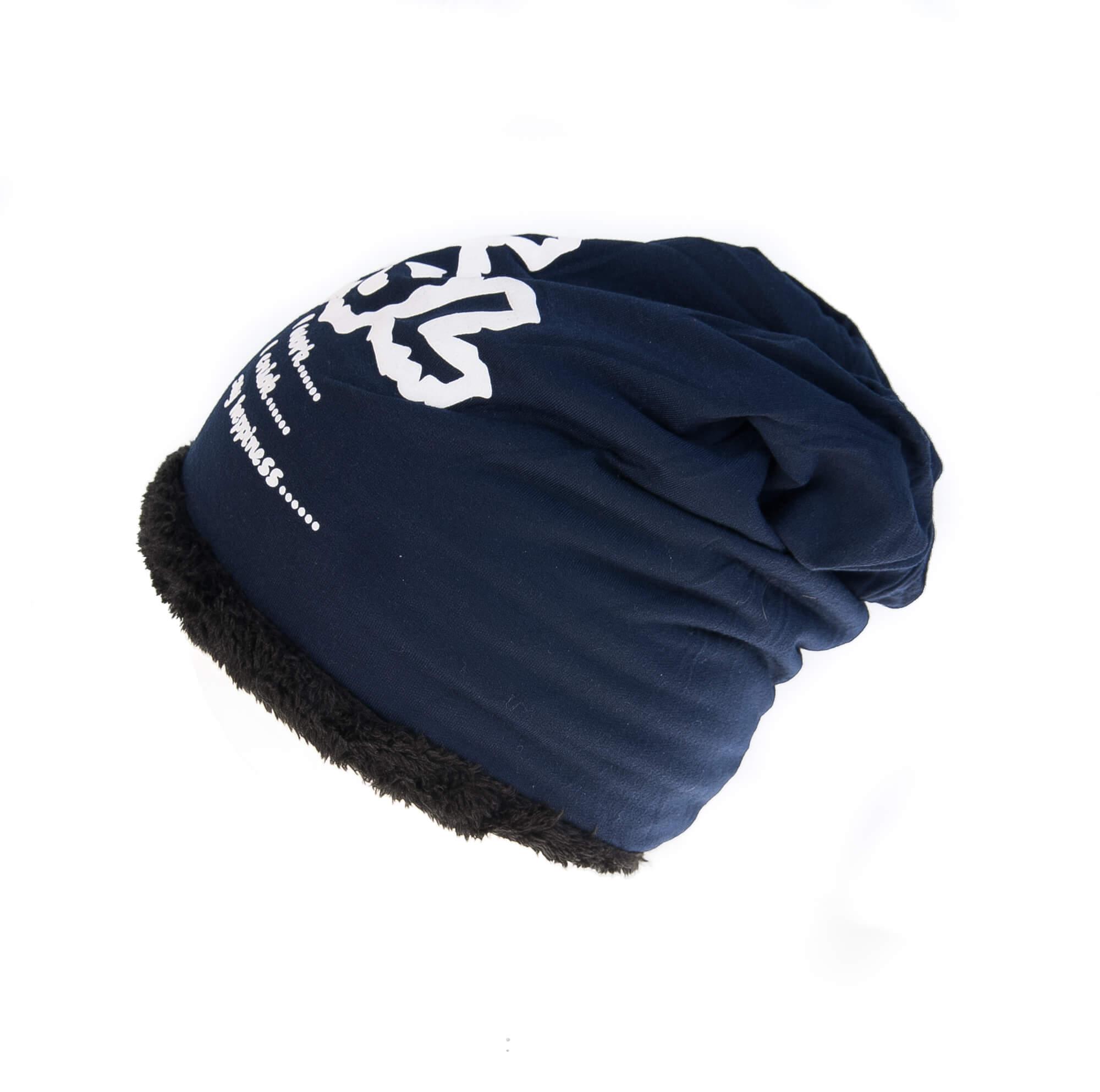کلاه طرح دار MADAME COCO – پشمی HW1005
