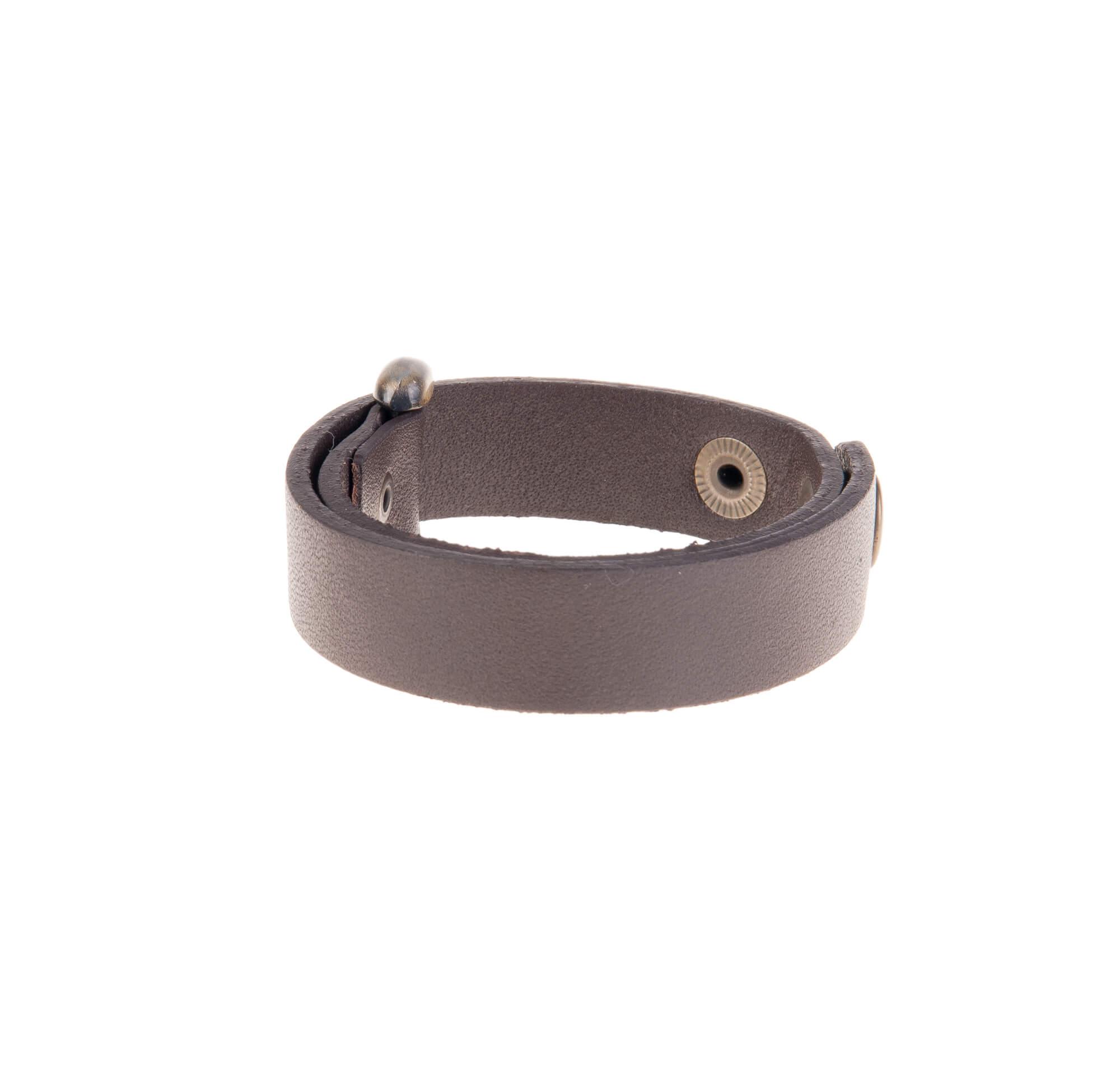 دستبند سگک دار چرمی LM1006