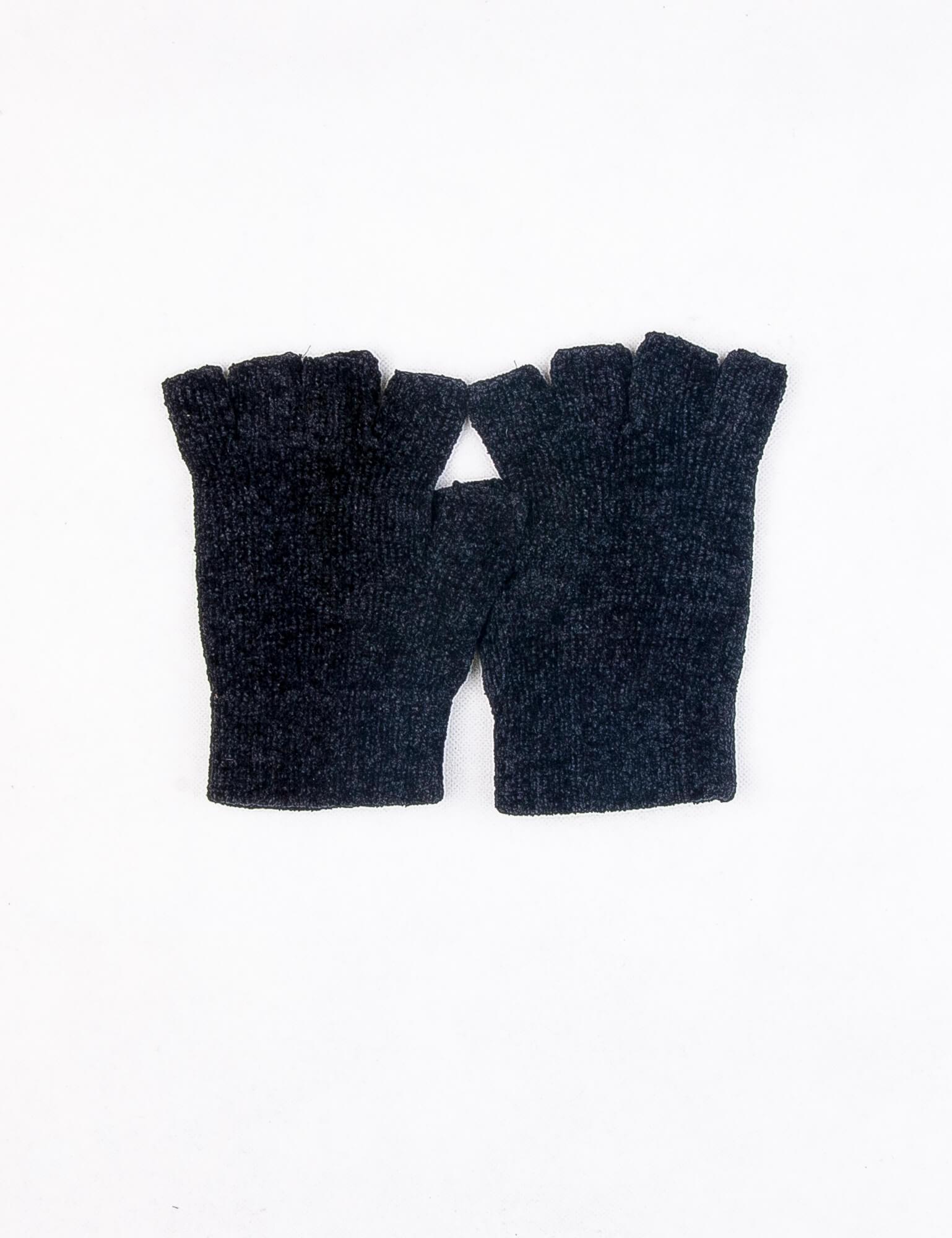 دستکش مردانه نیم انگشتی ساده DP1001