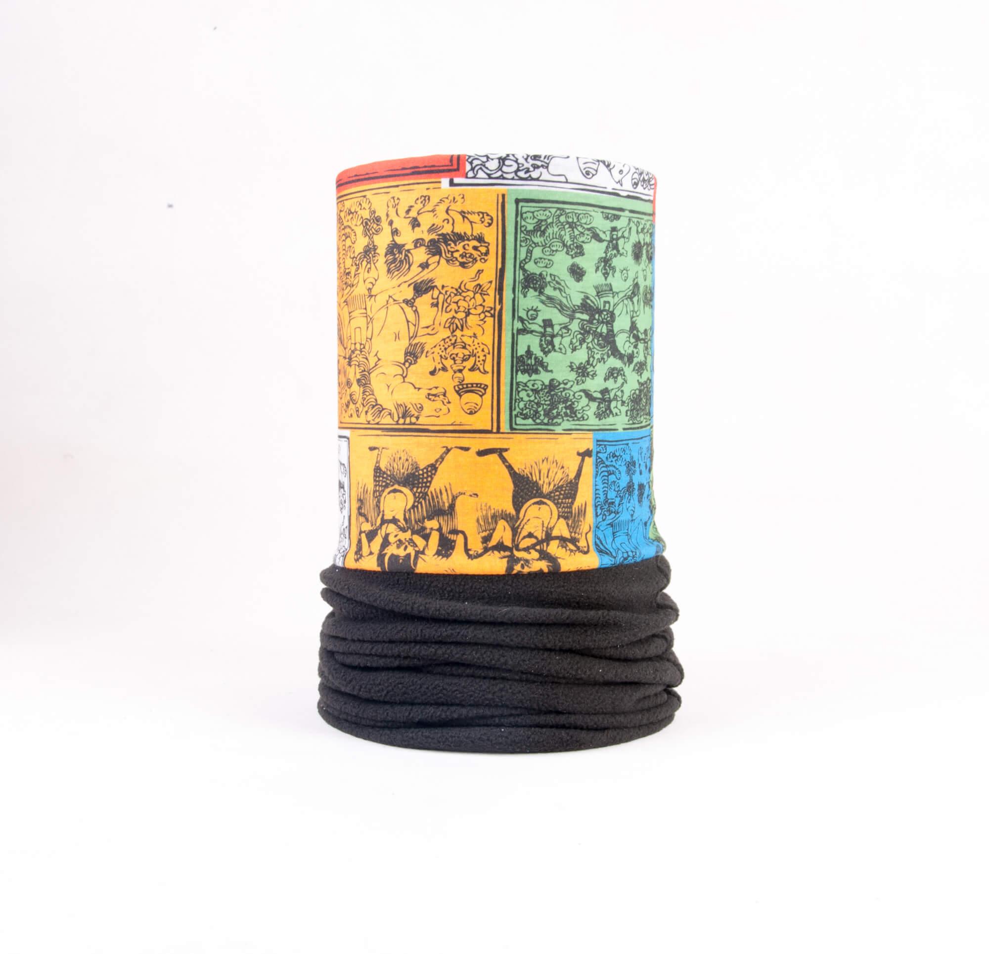 اسکارف پشمی مردانه طرح دار SW1002