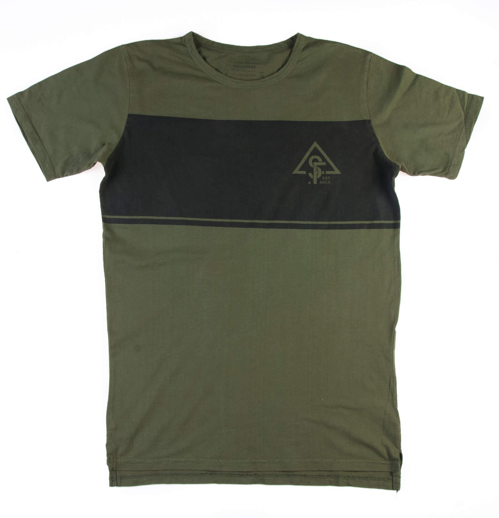 تی شرت مردانه برند پول اند بیر S1020- PULL&BEAR