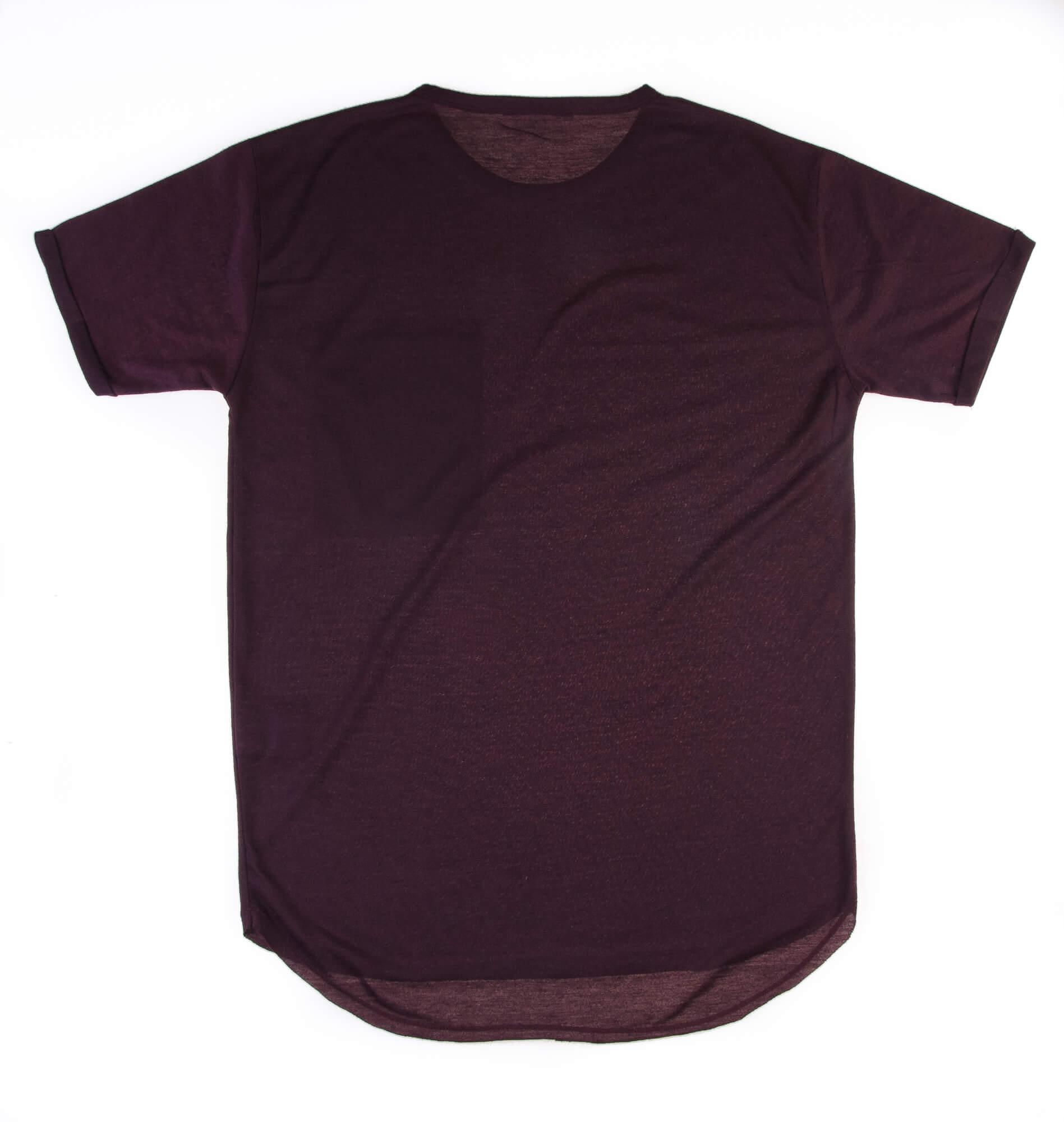 تی شرت مردانه زرشکی s1016 – PULL&BEAR