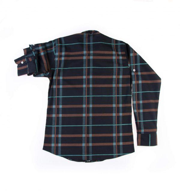 پیراهن طرحدار مردانه P1015