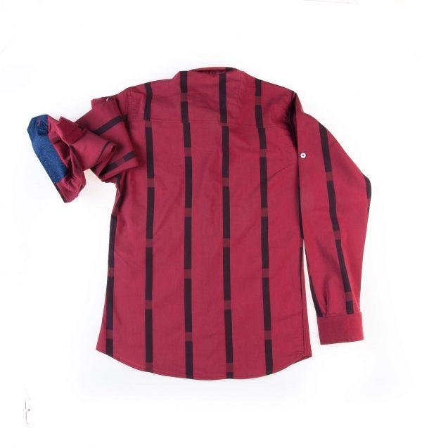 پیراهن مردانه طرح راه راه LACOSTE P1013