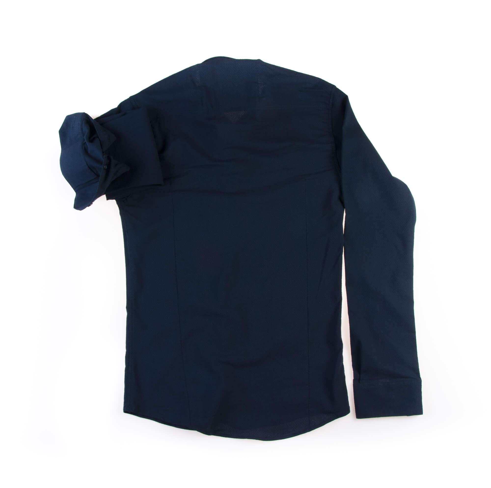 پیراهن ساده مردانه سورمه ای P1010