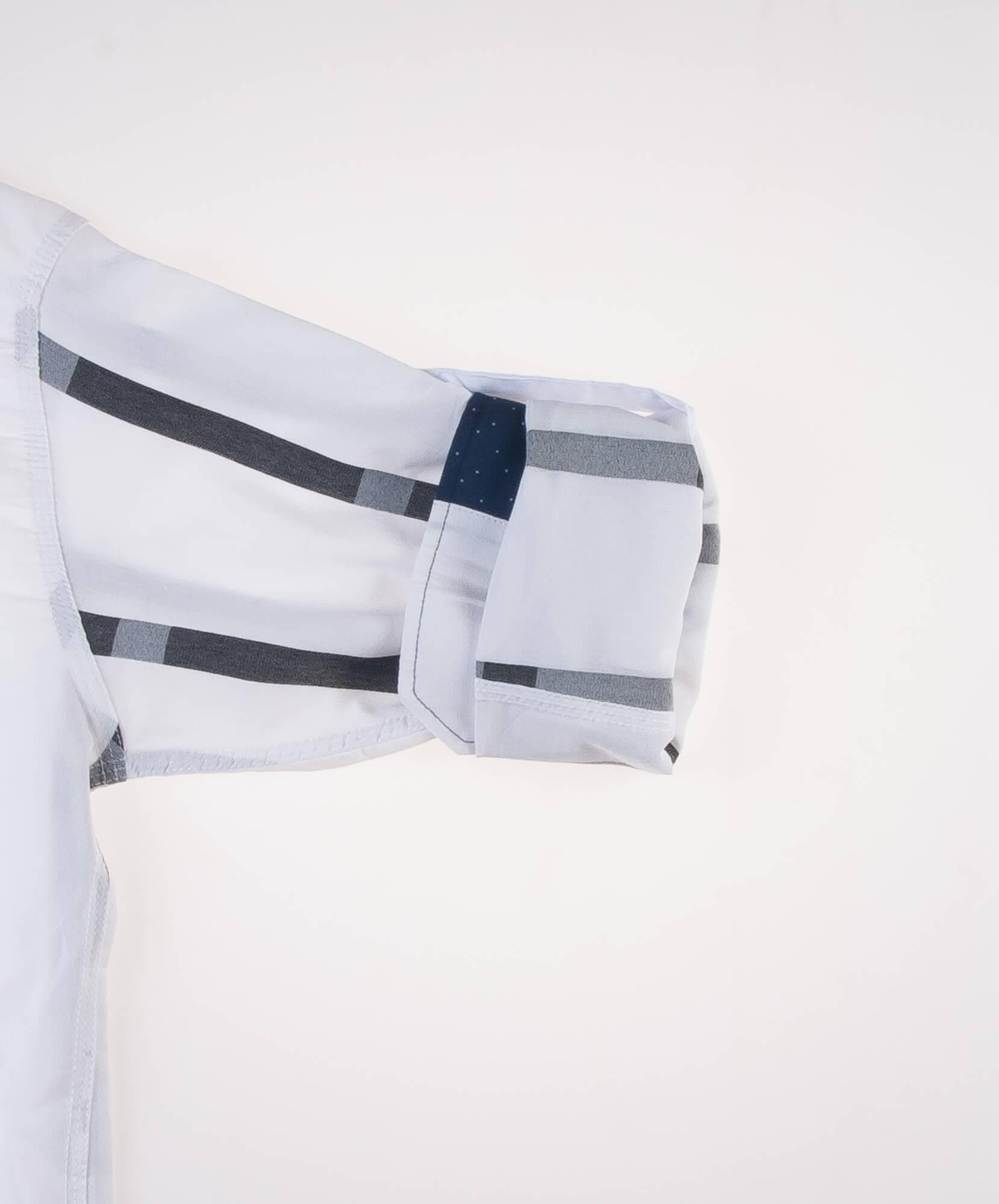 پیراهن مردانه طرح راه راه LACOSTE P1014