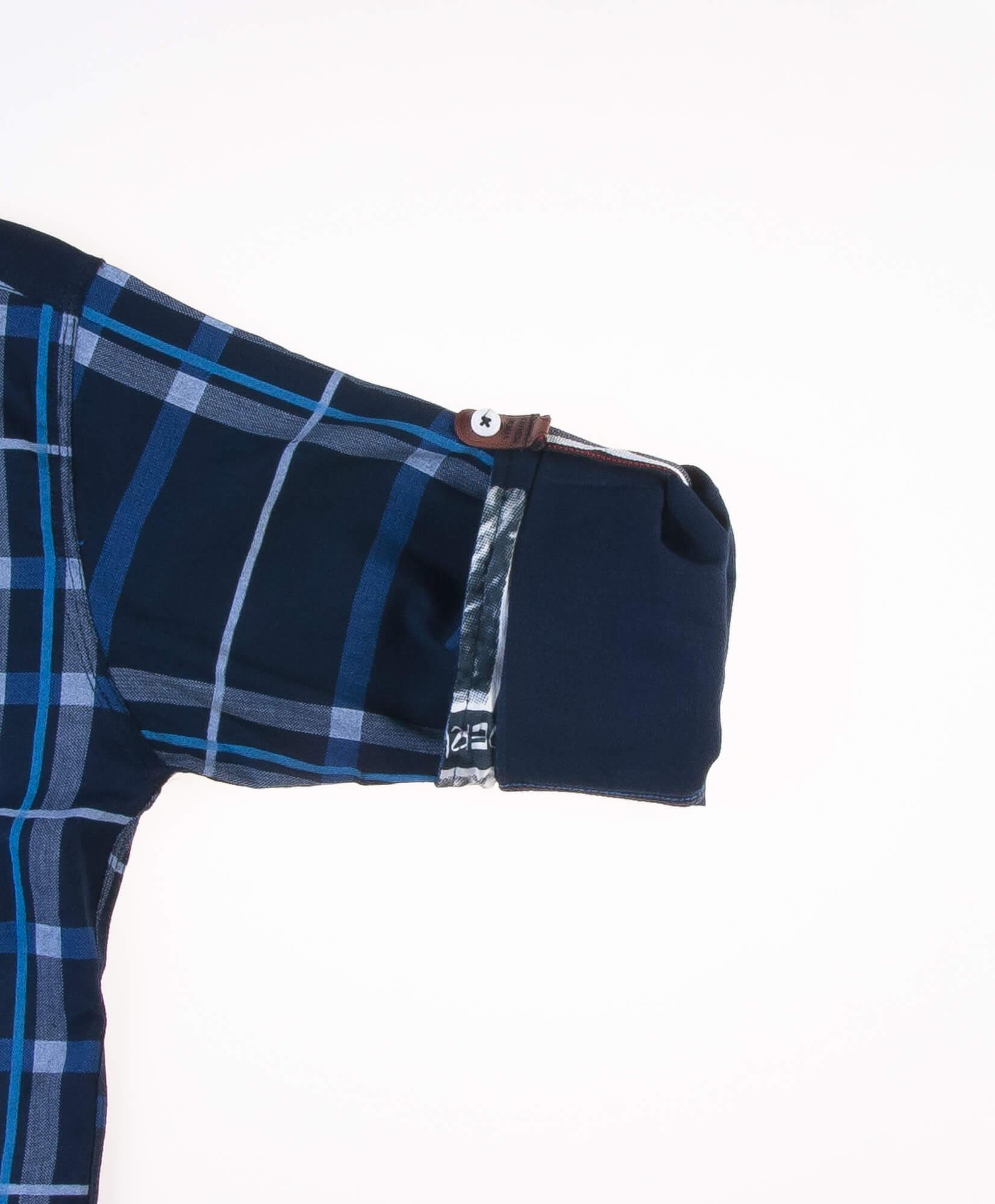 پیراهن طرحدار مردانه P1018