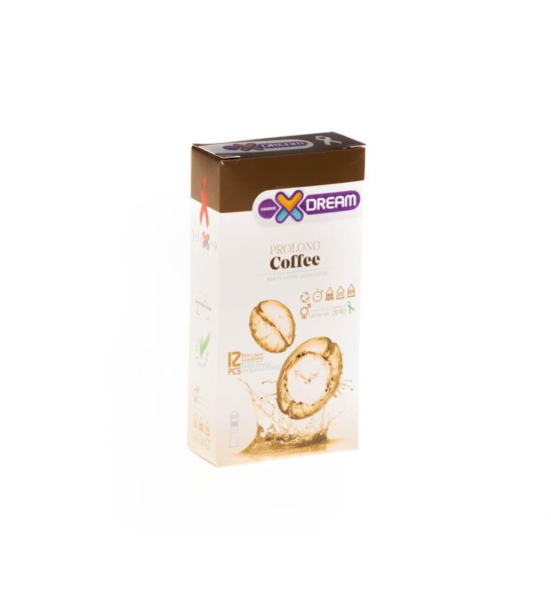 کاندوم ایکس دریم تاخیری قهوه prolong coffee کد 1529
