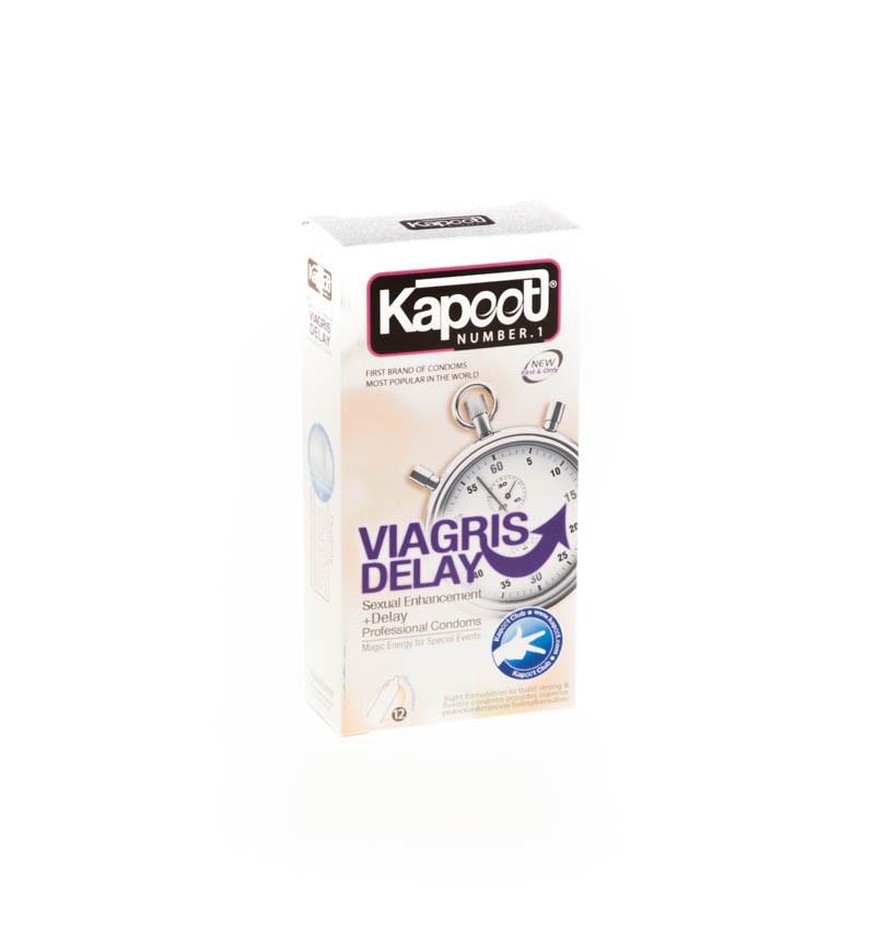 کاندوم کاپوت مدل co1502 Delay Viagris