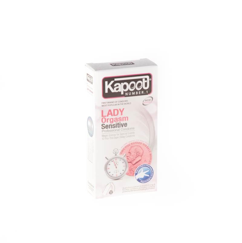 کاندوم کاپوت مدل co1509 Lady Orgasm Sensitive