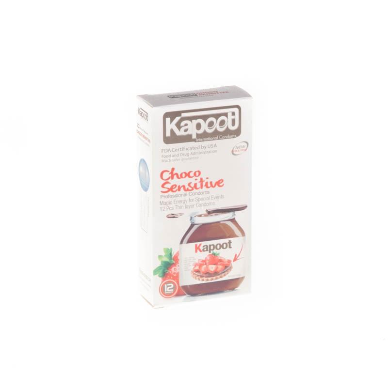 کاندوم کاپوت مدل co1507 Choco Sensitive