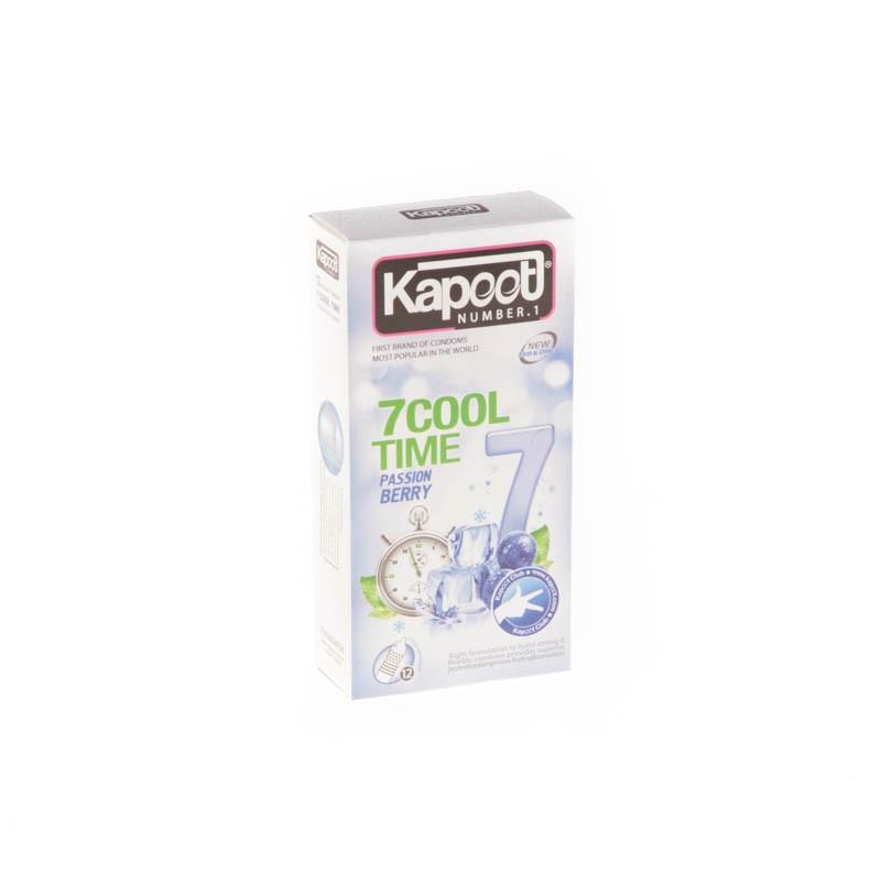 کاندوم کاپوت مدل co1521 7Cool Time