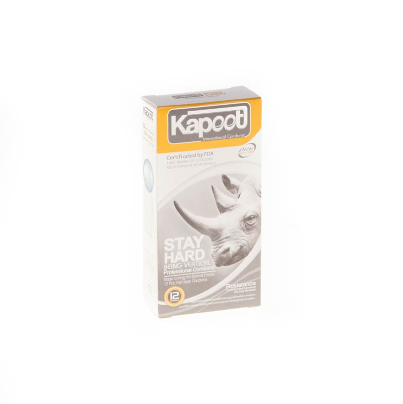 کاندوم کاپوت مدل co1505 Stay hard