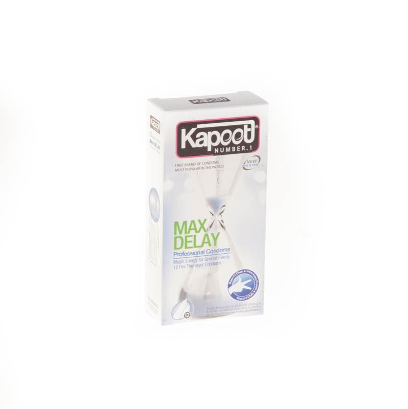 کاندوم کاپوت مدل co1520 Max Delay