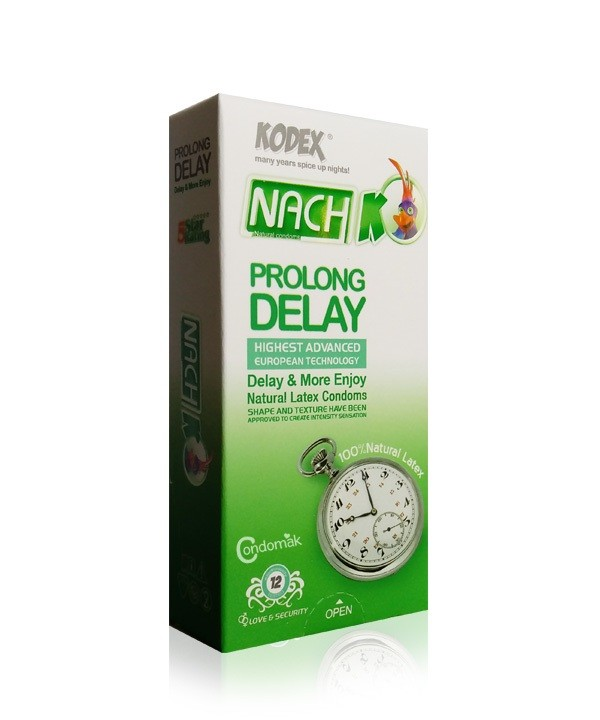 کاندوم کدکس تاخیری طولانی PROLONG DELAY کد 1551