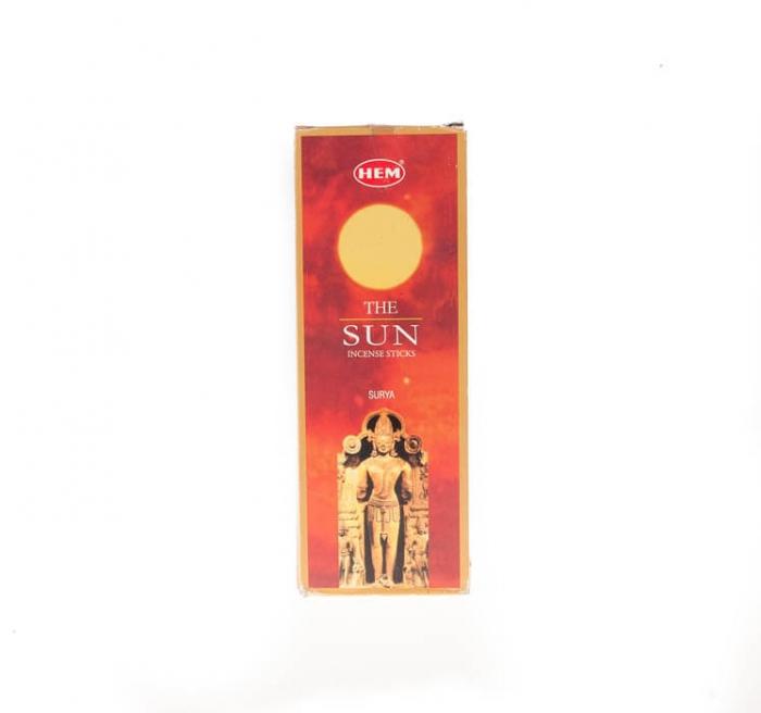 عود خوشبو کننده هوا هم مدل The Sun پک 6 بسته ای