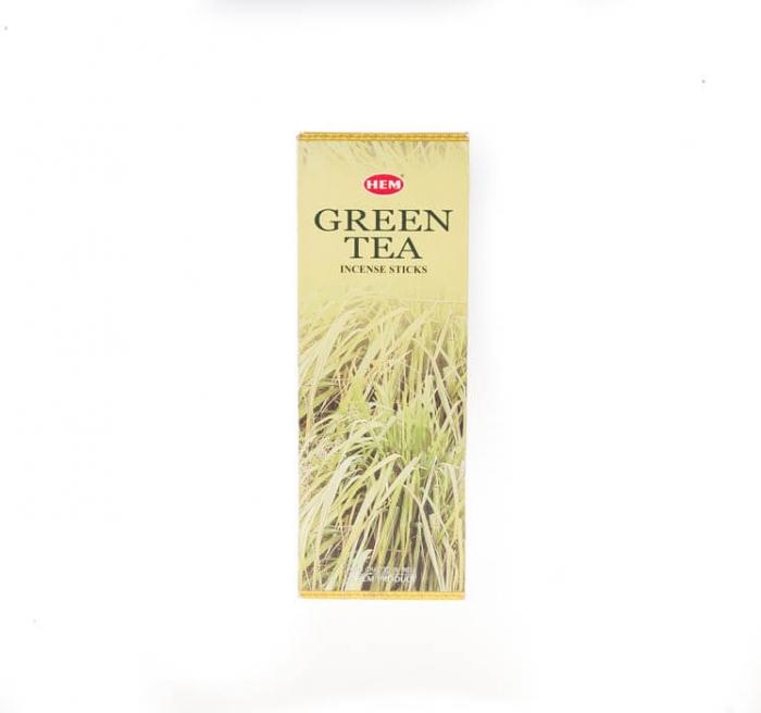 عود خوشبو کننده هوا هم GREEN TEA پک 6 بسته ای
