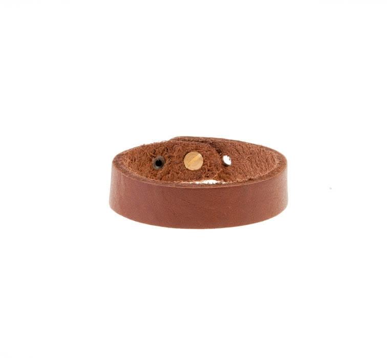 دستبند چرمی شتری مردانه LM1025