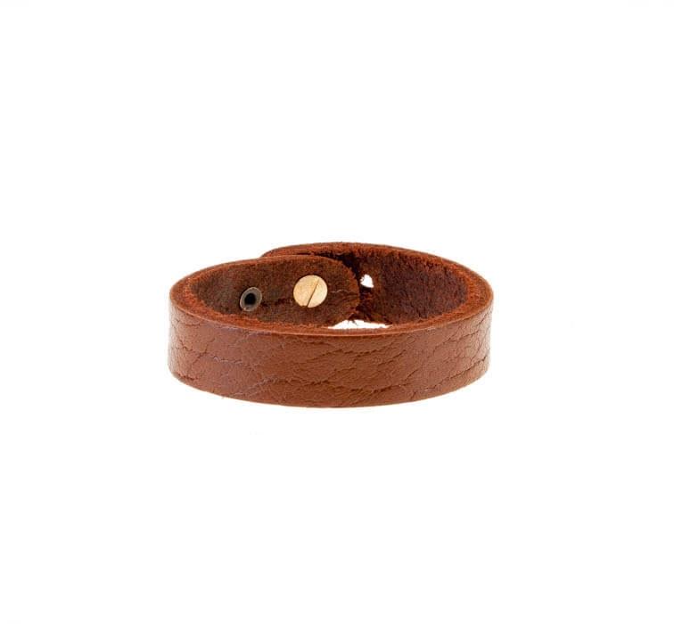 دستبند چرمی بافت دار مردانه LM1027