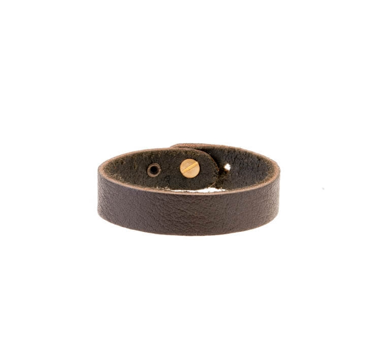 دستبند چرمی بافت دار مردانه LM1030