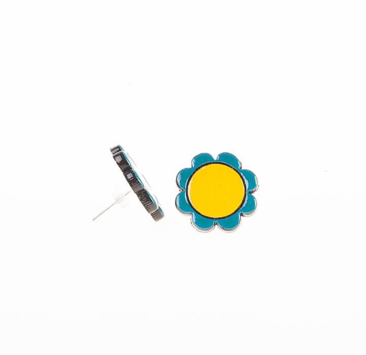 گوشواره میخی چوبی دست ساز WIR1021