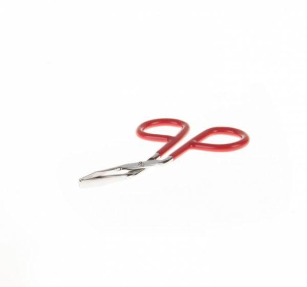 موچین استیل سر کج سیچر قرمز SICHER کد MS132