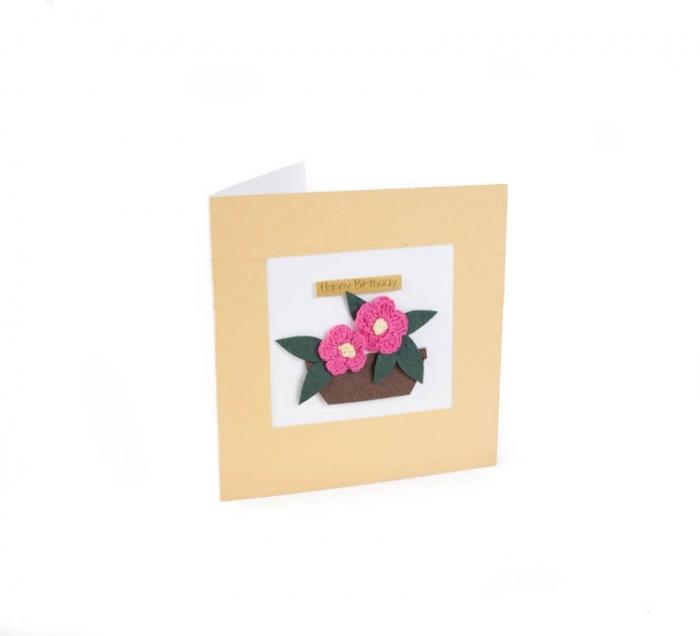 کارت پستال دست ساز شومر کد CP1011
