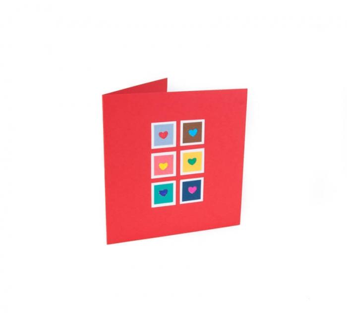 کارت پستال دست ساز شومر کد CP1017